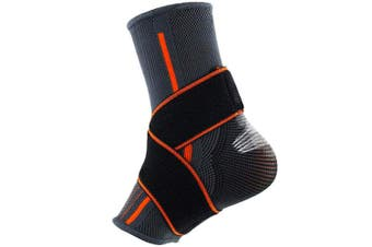 (Small) - Beister 1 Pack Ankle Brace Compression Support Sleeve for Women and Men, Elastic Sprain Plantar Fasciitis Foot Socks for Injury Recovery, Joint Pain, Achilles Tendon, Heel Spurs