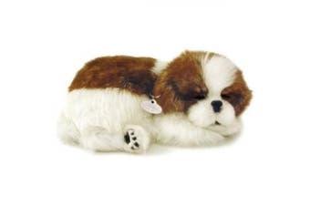 Perfect Petzzz Huggable Breathing Puppy Dog Pet Bed Shih Tzu