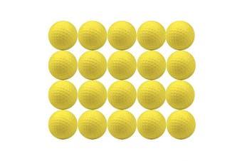 Agreatca 20Pcs Practise Golf Balls,Foam Sponge Golf Balls,Soft Elastic Golf Balls,Training Aid Balls