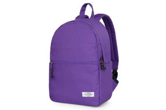 (D5731f, Purple) - 5731s Small Everyday Backpack Purse Travel Bag, 37x27x13 cm