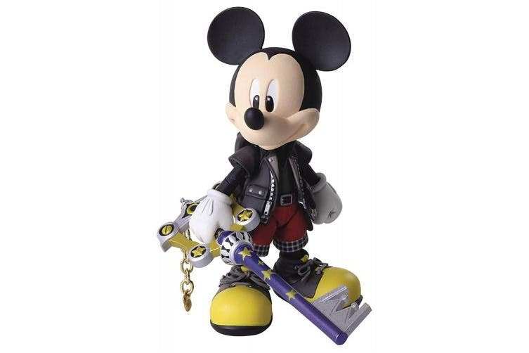 Square Enix Kingdom Hearts III: King Mickey Bring Arts Action Figure