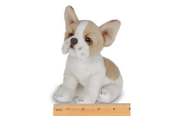Bearington Lil' Frenchie Small Plush French Bulldog Stuffed Animal Puppy Dog, 15cm