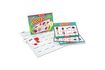 Trend Enterprises TEPT6067 Rhyming Bingo Game- Includes 36 Playing Cards-Over200 Chips
