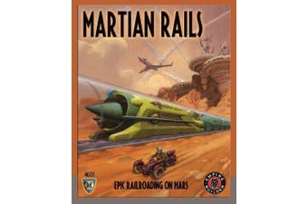 Mayfair Games Martian Rails Board Game