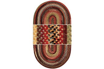 (60cm  x 2.4m Runner Concentric Rectangle) - Eaton Multi Rug Rug Size: Concentric Runner 0.6m x 2.4m