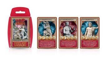 Top Trumps Ancient Rome Gods & Emperors Card Game