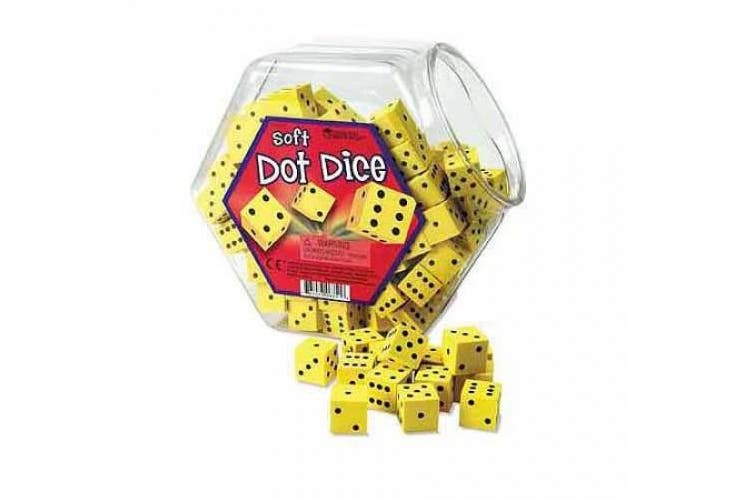 Learning Resources Hands On Soft Dot Dice Bucket