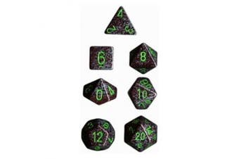 (Earth) - Chessex Dice: Polyhedral 7-Die Speckled Dice Set - Earth