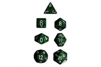 (Recon) - Chessex Dice: Polyhedral 7-Die Speckled Dice Set - Recon