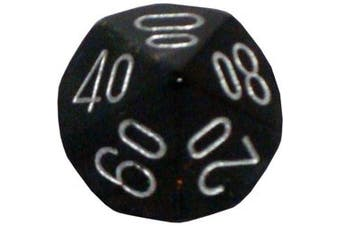 Chessex Dice: Polyhedral 7-Die Borealis Dice Set - Smoke with Silver numbers CHX-27428 by Chessex