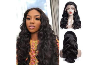 (50cm , Natural Color) - Human Hair Lace Front Wigs Body Wave Wig Pre Plucked With Baby Hair Brazilian Unprocessed Virgin Hair 150% Density Natural Colour Human Hair Wigs For Black Women (50cm , Natural Colour)