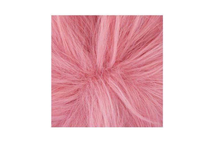 C-ZOFEK My Hero Academia Anime Ashido Mina Cosplay Wig Pink (pink)