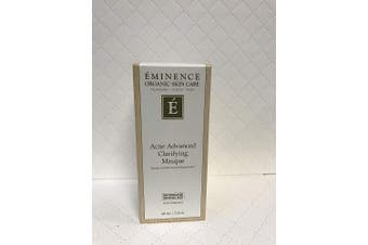 Eminence Organic Skincare Acne advanced clarifying masque 2 oz 60 ml, 2.0 Ounce