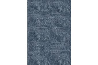 (0.6m x 0.9m, Light Blue) - Momeni Rugs Lustre Shag Collection, Hand Tufted High Pile Shag Area Rug, 0.6m x 0.9m, Light Blue