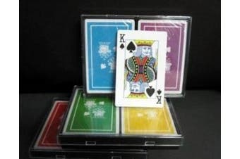 Barclay Bridge Size Playing Cards - Double Boxed Cards-12 decks