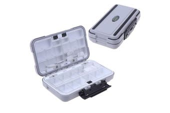 (Medium) - MeiMeiDa Waterproof Fishing Lure Box,Bait Storage Tackle Box Containers for Bait Casting Fishing Fly Fishing,Large/Medium Lure Case Available