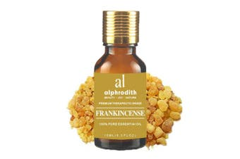 (Frankincense, 10ml) - Premium Aromatherapy Frankincense Essential Oil 100% Organic Pure Undiluted Therapeutic Grade Scented Oils - 10ml for Diffuser, Relaxation, Skin Therapy, Spa & Home