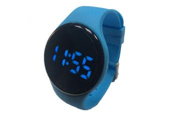 (Blue) - Kidnovations Premium Potty Training Watch - Rechargeable, Water Resistant, Toddler Reminder Watch for Toilet Training Boys & Girls - Potty Trainer Alarm/Timer & Bathroom Training for Kids & Toddler