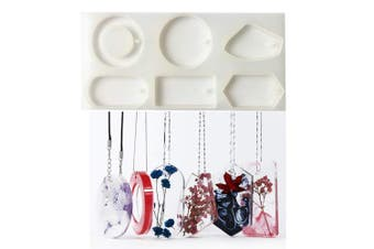 Make Sweater Necklace Pendant Epoxy Resin Silicone Mould,Crafting Clay,Jewellery Earrings Making,DIY Mobile Phone Decoration Tools,Semi-Transparent