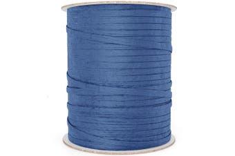 (100 yd, Royal Blue) - BonBon Paper Royal Blue Raffia Ribbon   Natural Paper Raffia Ribbon for Giftwrapping