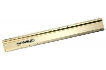 Alumicolor Alumicutter, Safety Ruler and Straight Edge, Aluminium, 30cm , Gold (1312-2)