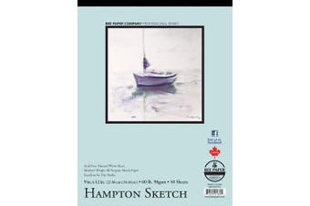 (23cm  x 30cm , 50 Sheet Tape Bound Pad) - Bee Paper Hampton Sketch Pad, 23cm by 30cm