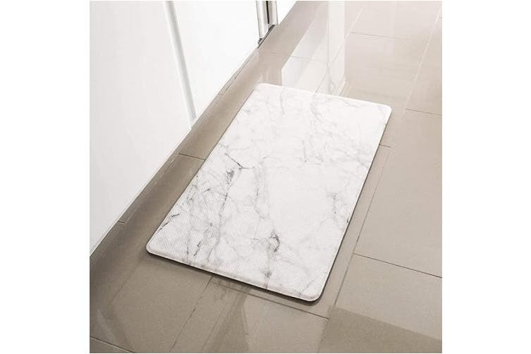 80cm X 44cm Marble Pebbles Simple Being Anti Fatigue Kitchen Floor Mat Comfort Heavy Duty Standing