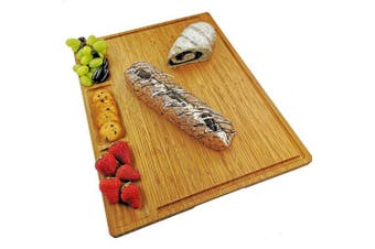 (XL clear (19.5*15)) - Allsum 50cm x 38cm Bamboo Kitchen Cutting Board With 3 Built-In Dividers And Juice Grooves, Reversible Pizza Cheese Board, Heavy Duty Chopping Board For Meats Bread Fruits, Butcher Block, Carving Board