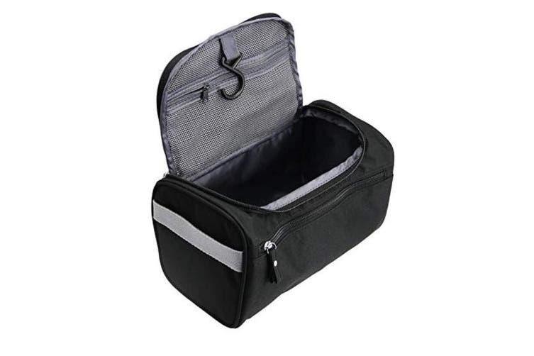 MIFASOO Mens Toiletry Bag Organiser Bathroom Hygiene Hanging Dopp Kit with Hook Travel Accessories Toiletries Bathroom Shaving & Makeup Case