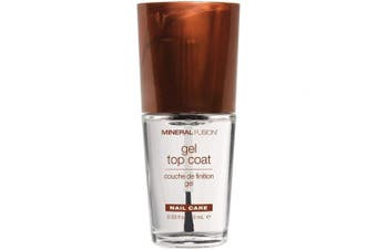 (Gel Top Coat) - Mineral Fusion Nail Polish Gel Top Coat, 10ml (Packaging May Vary)