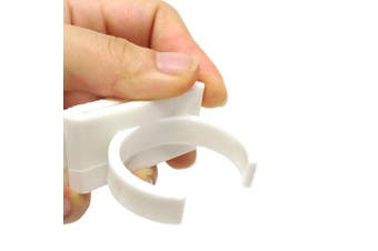 Honbay 4PCS Plastic Extra Strength Adhesive Spice Racks Spice Gripper Clips Strips for 20 Spice Jar