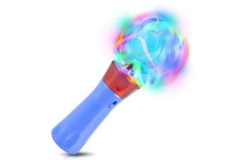 "ArtCreativity Light Up Orbiter Spinning Wand | 7"" LED Electronic Spin Toy for Kids with Batteries Included 