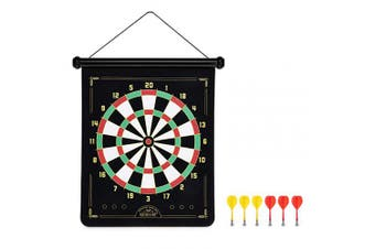 Foster & Rye 8180 Dart Board Game, One, Red & Yellow