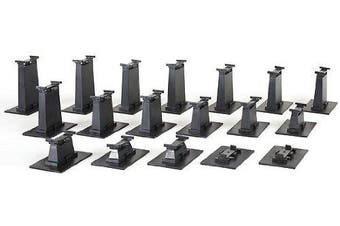 Bachmann Trains 18 PC. E-Z TRACK Graduated Pier Set (compatible with On30)