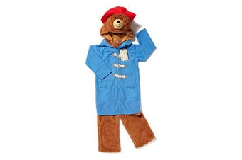 Book Week@TU Official 3-5 Years Paddington Bear fancy dress Costume with Padded Character Head