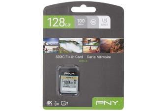 PNY Elite-X SDXC card 128GB Class 10 UHS-I U3 100MB/s