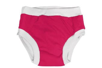 Imagine Baby Products Training Pants, Raspberry, Medium