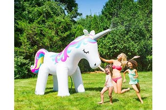 Big Mouth Toys BMYS-0008-EU Big Mouth Sprinkler Unicorn Bright #New#, Multi Colour