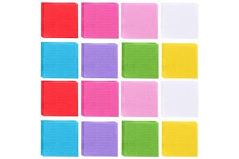 (5.1cm  x 5.1cm ) - 5000 Pieces Colourful Tissue Papers Craft Tissue Squares Mosaic Squares for Art Craft Srunch and DIY (5.1cm x 5.1cm )