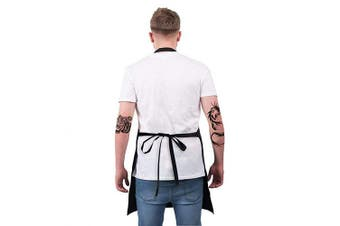 (Black7) - ALIPOBO BBQ Apron Funny Grill Aprons for Men Dad - The Grillfather - Men's Grilling Apron with 2 Pockets, Adjustable Neck Strap and 100cm Long Ties - Black