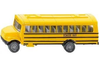 (US School Bus) - SIKU 9274350cm US School Bus Vehicle, Multi-Coloured, Standard Size