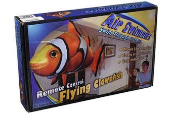 (Air Toy) - Air Swimmers Remote Control Flying Clownfish
