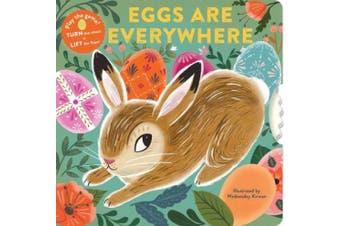Eggs Are Everywhere [Board book]