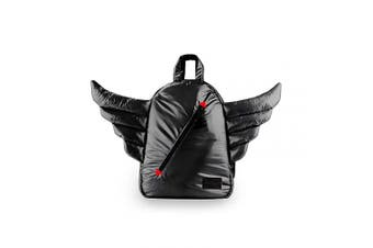 (Black) - 7 A.M. Voyage Mini Wings Backpack (Black)