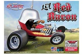 Snap Lil Red Baron Show Rod Model Kit 1/32 Tom Daniel Atlantis
