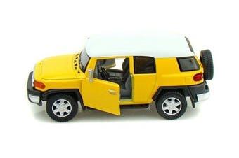 Toyota FJ Cruiser 1/36 Yellow