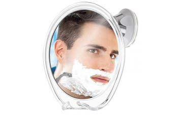 Fogless Shower Mirror for Shaving with Razor Hook | Strong Suction Cup | True Fog Free, Anti-Fog Bathroom Mirror | 360 Degree Swivel, Shatterproof | Travel Friendly | No Fog or Falling Off