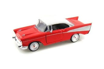 1957 Chevy Bel-Air 1/24 Red
