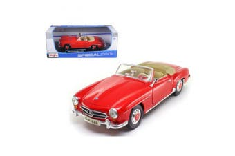 1955 Mercedes 190 SL Red 1/18 Diecast Car