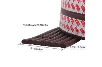 (C-Brown) - Cute Cute Jump 9m Edge Guards Baby Proofing Guard Corner Guards Extra Wide Edge Cushion Table Protectors (Brown)